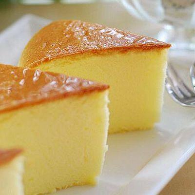 无黄油轻芝士蛋糕八寸