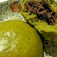 【阿苏】翡翠绿豆沙包