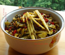 春笋炒酸菜(客家风味)的做法