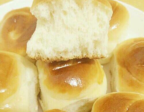 香甜蜂蜜小面包,没有黄油一样可以做面包——薛城购物