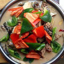 超美味杏鲍菇甲鱼煲 会客聚餐硬菜