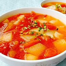 清爽开胃--番茄冬瓜汤