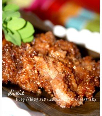 川菜竹叶粉蒸肉的做法
