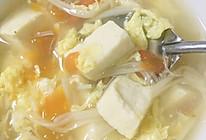 金针菇豆腐汤的做法