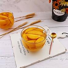 冰糖黄桃#雀巢营养早餐#