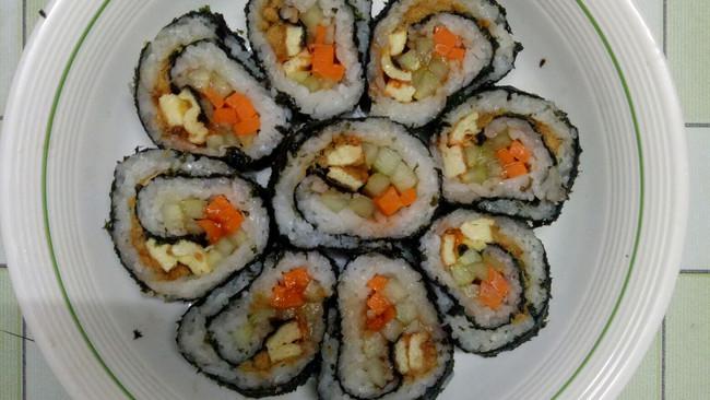 寿司家庭版的做法