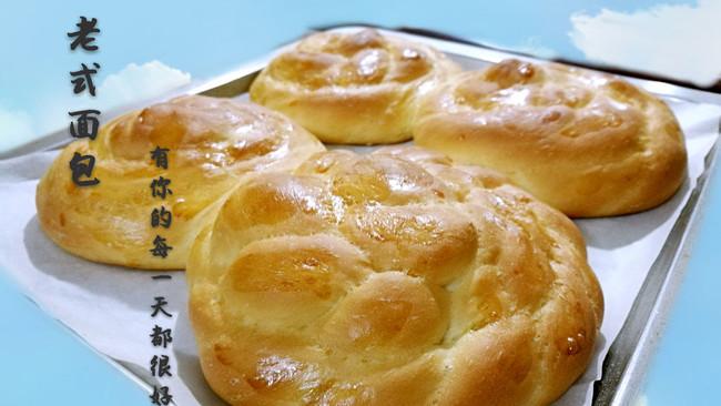 老式面包(含酵种)的做法