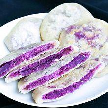 无油无糖低脂紫薯饼