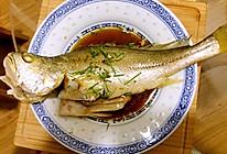 香蒸大黄鱼的做法