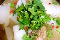 快手白萝卜棒骨汤—冬季暖身的做法