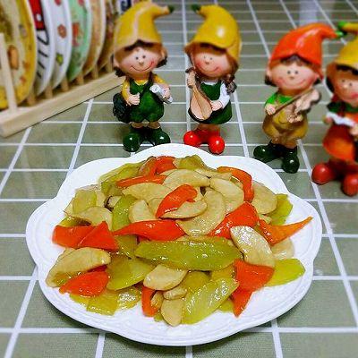莴苣炒杏鲍菇