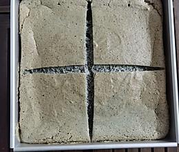 黑芝麻蛋糕的做法