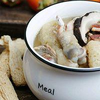 竹荪山药菌菇鸡汤#秋天怎么吃#的做法图解9