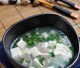 荠菜豆腐羹的做法