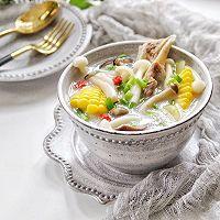 筒骨菌菇汤的做法图解16