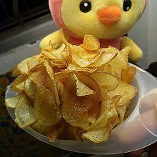 自制薯片~