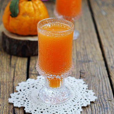 丑柑胡萝卜果蔬汁
