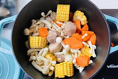 什锦排骨汤