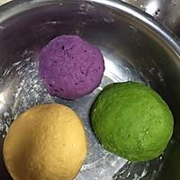 彩色水饺的做法图解4