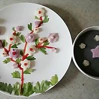 盛开的花儿的做法图解4