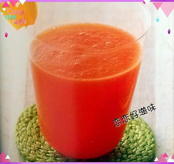 菠萝排毒果汁的做法