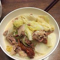烤鸭架炖大白菜(双吃有惊喜)的做法图解5