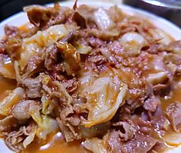 香喷喷圆白菜牛肉卷的做法