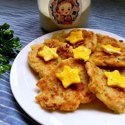 宝宝辅食——鲜虾蔬菜饼