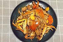金针菇香辣蟹的做法