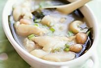 海带花生煲猪蹄—冬季暖身的做法