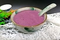 紫薯营养米糊的做法