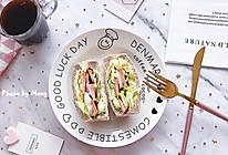 【快手早餐】全麦厚切三明治#美食新势力#的做法