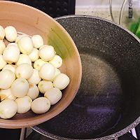 #美食新势力#夏季消暑甜品之鲜莲荷包甜汤的做法图解10
