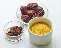 红糖小米粥的做法图解1