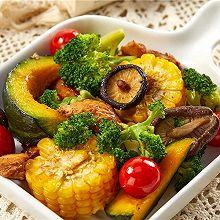 鸡胸肉烤时蔬 | 吃到撑,热量才380卡(八)