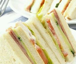 芝士三明治#百吉福芝士片力量#的做法