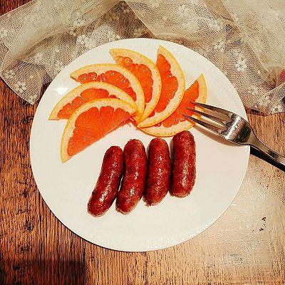 自制早餐脆皮肠