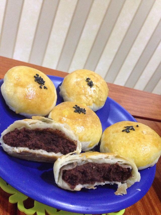 苏式红豆月饼的做法_【图解】苏式红豆月饼怎么做好吃