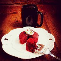 爱的礼物【红丝绒cupcake】的做法图解10
