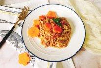 牛肉番茄意面为武汉热干面加油!的做法