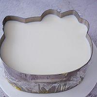 8寸KT猫芒果慕斯蛋糕的做法图解16