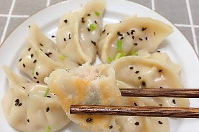 #花10分钟,做一道菜!#快手简易版煎饺