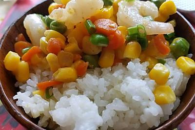 虾仁时蔬(幼儿菜谱)