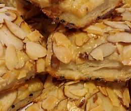 简易杏仁千层酥饼的做法
