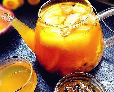 百香果蜜茶
