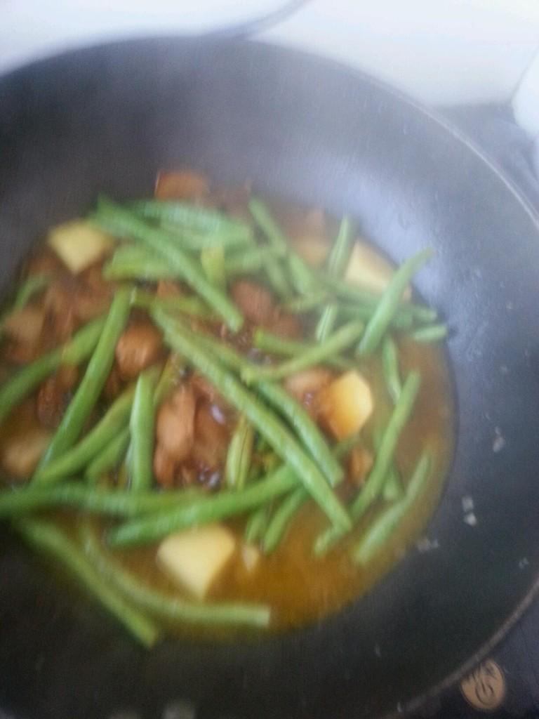 红烧肉炖土豆豆角_红烧肉炖豆角土豆的做法_菜谱_豆果美食