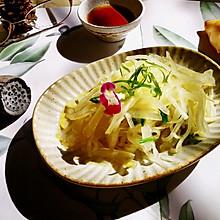 葱油海蜇萝卜丝#秋天怎么吃#
