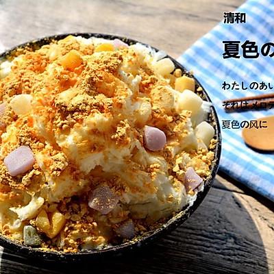 红豆年糕冰山(沙冰)
