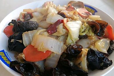 家的味道-木耳白菜片