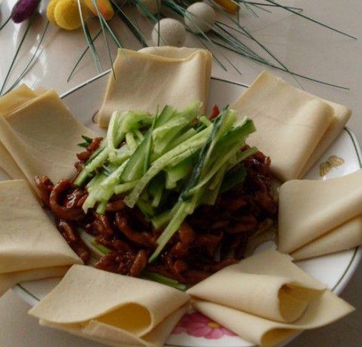 改良版的京酱鸡丝的做法